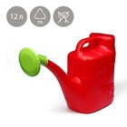 """Watering can, 12 l, with a diffuser, color MIX, """"Summer"""""""