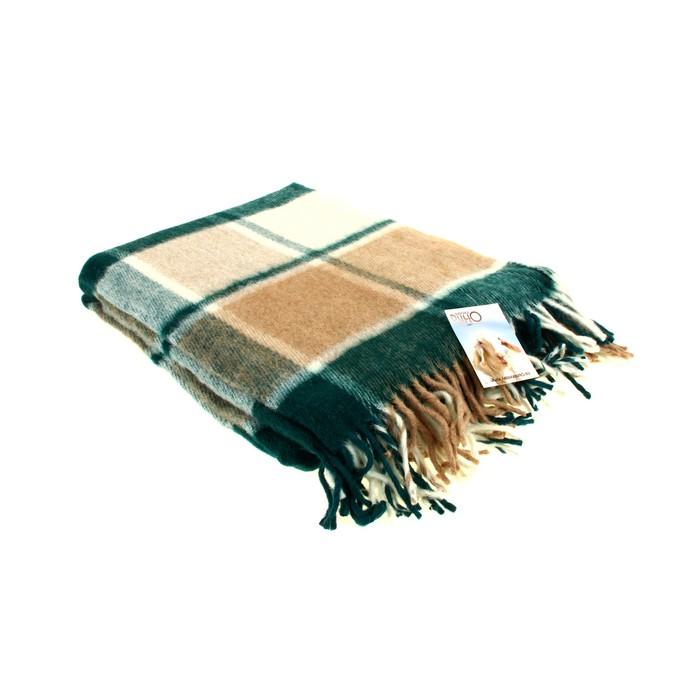 "Плед ""Пиросмани"" шерстяной, размер 140х200 см ±5 см, цвет 13"