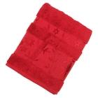 Полотенце махровое JUANNA СОФТ темные 50*90 см бордовый, бамбук, 550 гр/м