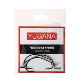 Крючки офсетные Wide range worm №2/0, 3 шт. в упаковке