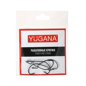 Крючки офсетные Wide range worm big eye № 2, 4 шт. в упаковке