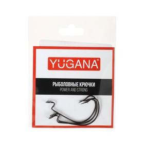 Крючки офсетные O'shaughnessy worm № 3/0, 3 шт. в упаковке