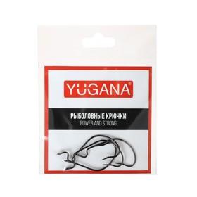 Крючки офсетные O'shaughnessy worm № 1/0, 4 шт. в упаковке