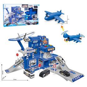 Парковка «Полицейская часть» с самолетом