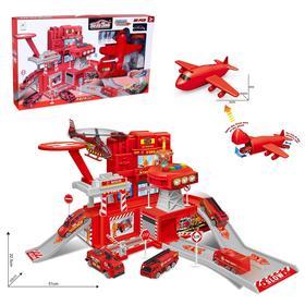 Парковка «Пожарная часть» с самолетом
