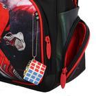 Рюкзак каркасный, Luris «Твинкл», 38 x 30 x 16 см, наполнение: мешок для обуви, «Хоккей» - фото 823237