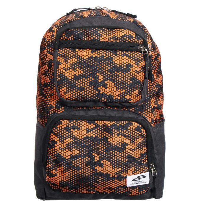 Рюкзак молодёжный, Luris «Рамон», 41 х 28 х 19 см, эргономичная спинка, «Соты» - фото 823608