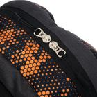 Рюкзак молодёжный, Luris «Рамон», 41 х 28 х 19 см, эргономичная спинка, «Соты» - фото 823615