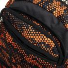 Рюкзак молодёжный, Luris «Рамон», 41 х 28 х 19 см, эргономичная спинка, «Соты» - фото 823617