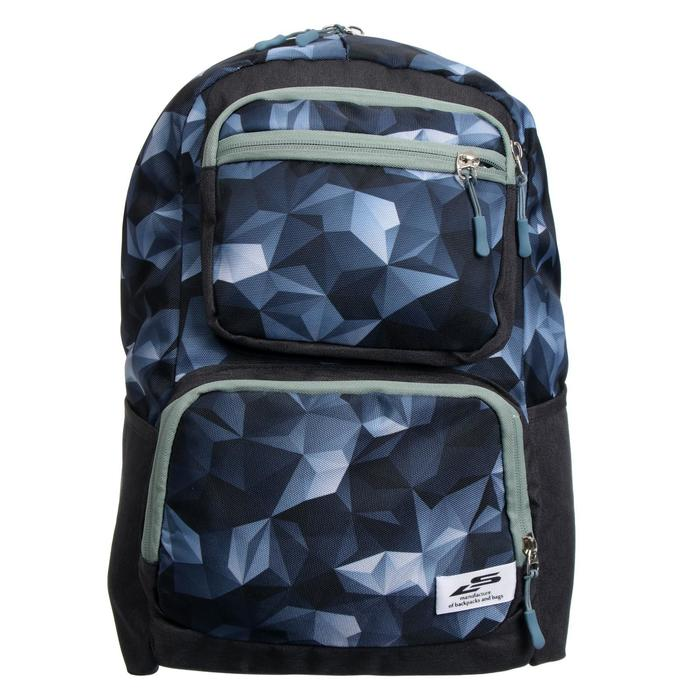 Рюкзак молодёжный, Luris «Рамон», 41 х 28 х 19 см, эргономичная спинка, «Кристалл» - фото 823656