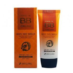 3W BB face cream with horse oil