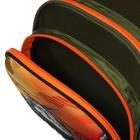 Рюкзак каркасный, Luris «Джерри 3», 38 x 28 x 20 см, наполнение: мешок для обуви, «Вертолёт» - фото 823900