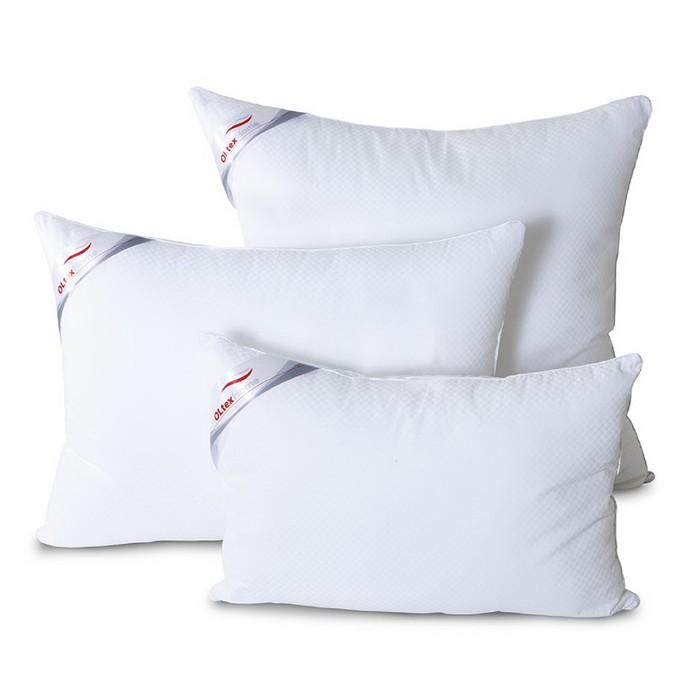 "Подушка ОЛ-Текс ""Богема"", размер 40х60 см, микроволокно, сатин-страйп (100% хлопок)"