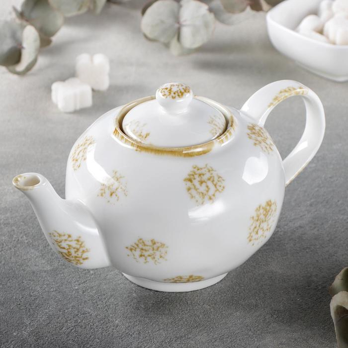 Чайник заварочный Доляна «Золотой космос», 650 мл