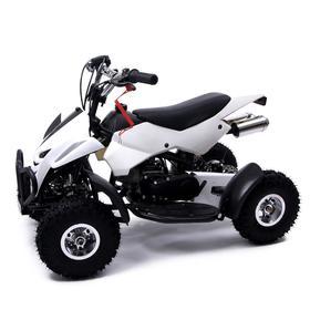 Квадроцикл бензиновый ATV R4.35 - 49cc, цвет белый