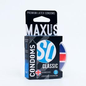 Презервативы классические MAXUS AIR Classic, 3 шт