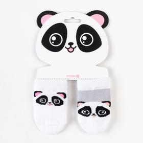 Набор носков Крошка Я «Панда», 2 пары, 10-12