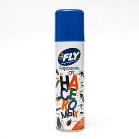 """Аэрозоль от летающих и нелетающих насекомых """"Fly"""", без запаха, флакон, 145 мл"""