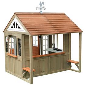 Игровой домик для улицы деревянный «Поместье Кантри Виста»