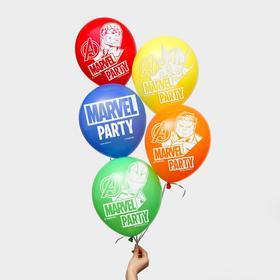 """Воздушные шары """"Marvel party"""", Мстители (набор 25 шт) 12 дюйм"""