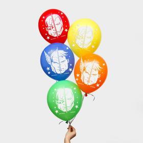"""Воздушные шары """"Герои"""", Мстители (набор 5 шт) 12 дюйм"""