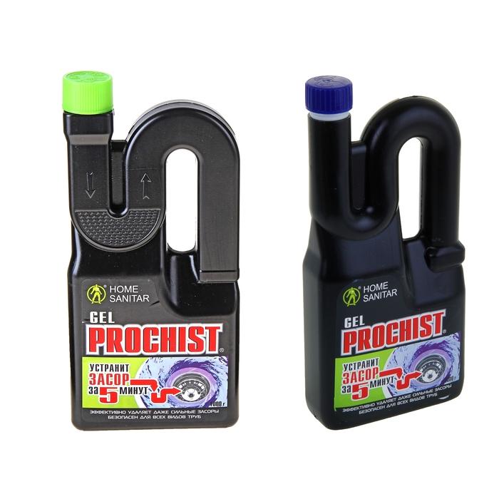 Средство для быстрой очистки канализации Home Sanitar Prochist, гель, 1 кг