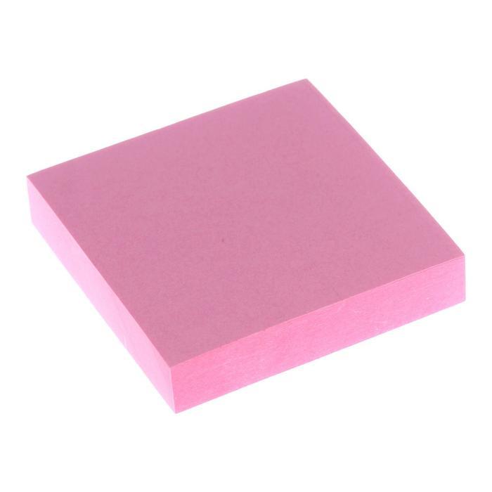 Блок с липким краем 51мм51мм 100л пастель розовый