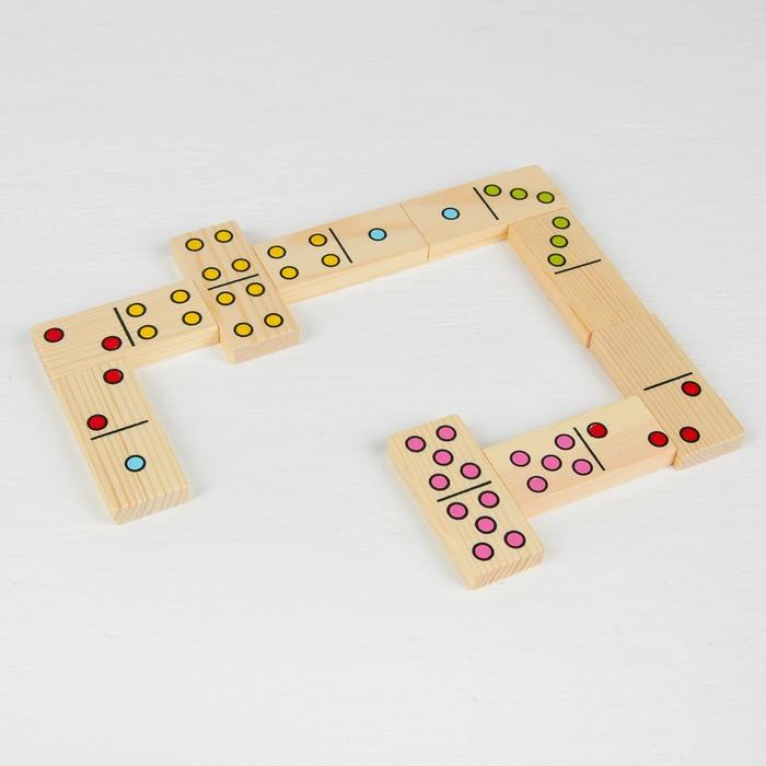 "Домино ""Точки"", плашка: 7 × 3 см - фото 536574696"