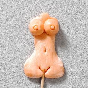 Леденец ручной работы «Женское тело» 30 г, микс
