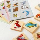 Лото «Животный мир» 6 карточек в наличии - фото 106087943