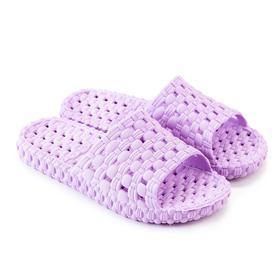 Слайдеры женские, цвет светло-пурпурный, размер 35