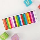 Плашки цветные, 28 элементов - фото 106533059