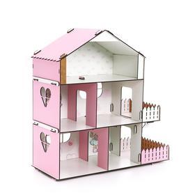 Кукольный дом без мебели «Doll Style»