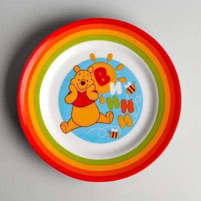 Тарелка керамическая, Медвежонок Винни и его друзья, 170 мм