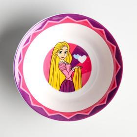Салатник керамический детский, Принцессы, 360 мл, 140мм