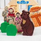 Конструктор «Сказки. Маша и медведь», 17 деталей - фото 105630494