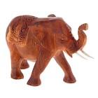 Сувенир Слон резной 15 см 76162 дерево
