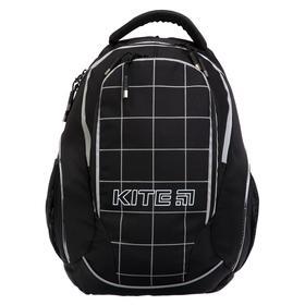Рюкзак молодежный, Kite 816, 45 х 32 х 14 см, с эргономичной спинкой, LED элементы (светящиеся), чёрный