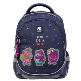 Рюкзак школьный, Kite 700, 38 х 28 х 16, с эргономичной спинкой, Better together