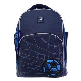Рюкзак школьный, Kite 706, 38 х 29 х 16.5, с эргономичной спинкой, Football pitch