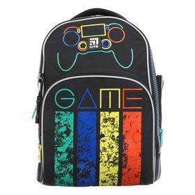 Рюкзак школьный, Kite 706, 38 х 29 х 16.5, с эргономичной спинкой, Game changer