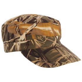 Кепка охотника летняя, цвет камыш, ткань смесовая, размер 58-60