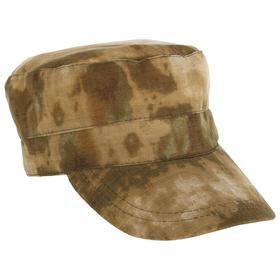 Кепка охотника летняя, цвет малахит, ткань смесовая Рип-Стоп, размер 58-60