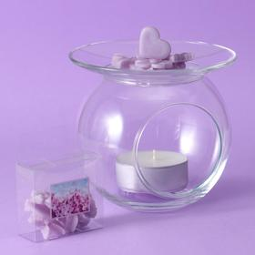 Aroma candlestick with filler flavored, 30 gr. lilac