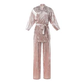 Костюм (жакет, брюки) KAFTAN, 40-42, розовый