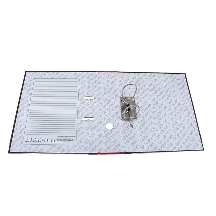 Папка-регистратор А4, 70 мм, Original Pro, разборный, мраморный, красный, пластиковый карман, металлический кант, картон 2 мм, вместимость 450 листов - фото 509602831