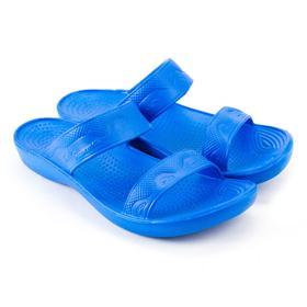Слайдеры женские, цвет синий, размер 36