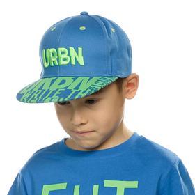 Кепка для мальчиков, размер 48-50, цвет синий