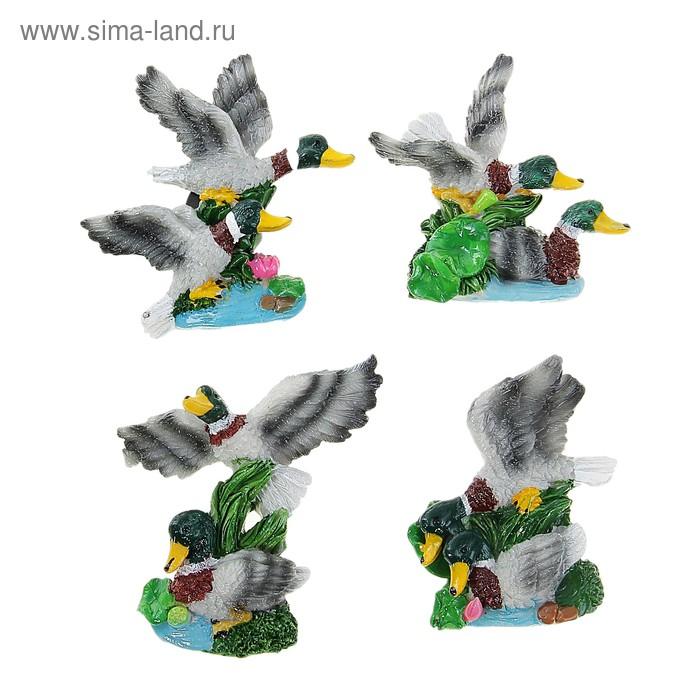 """Магнит """"Две утки на озере"""", МИКС"""