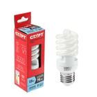 """Лампа энергосберегающая """"Старт"""", E27, 15 Вт, 4000 K, 230 В, холодный свет"""